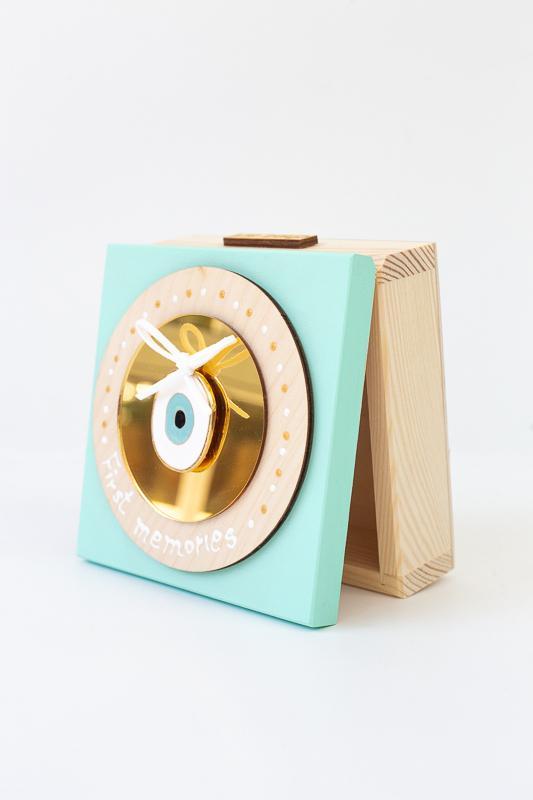 Κουτι αποθήκευσης Ματάκι (βεραμάν)