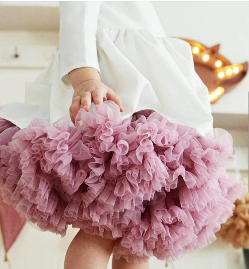 Dusty Pink tutu φούστα