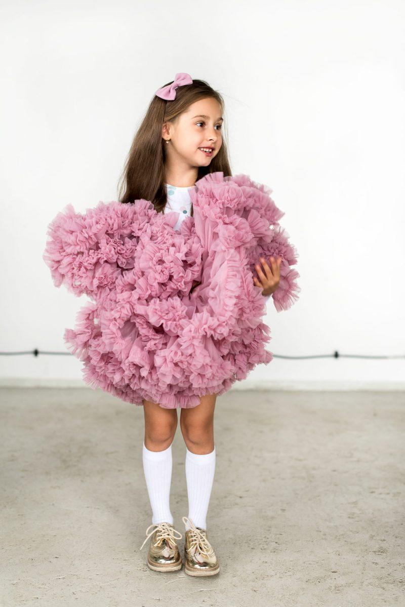 Coral Pink tutu φούστα