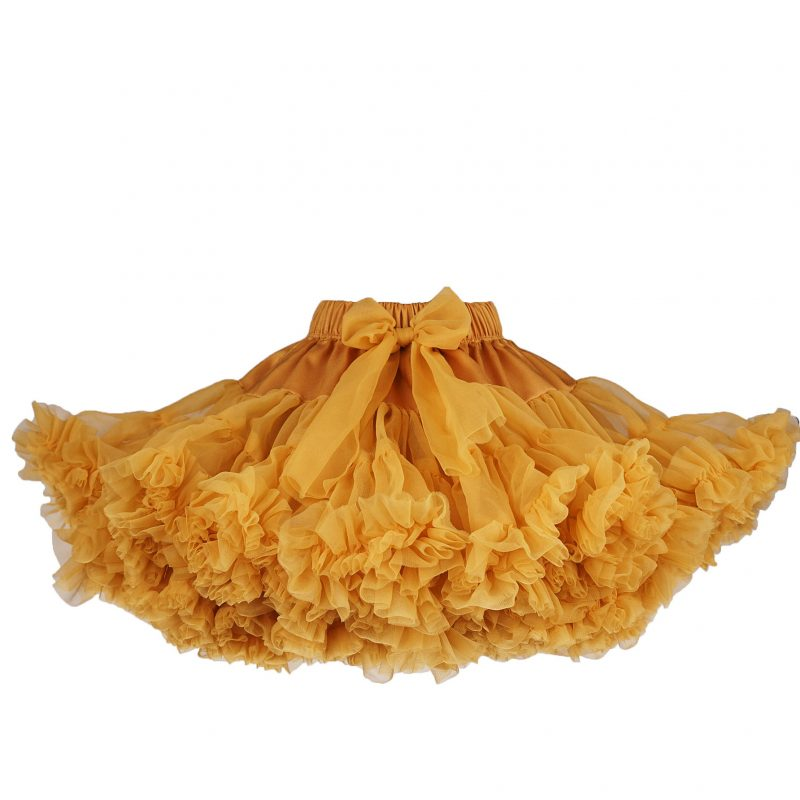 Mustard tutu φούστα