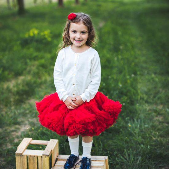 Red tutu φούστα